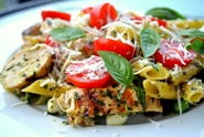 Pasta-with-Pesto-and-Grilled-Chicken